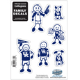 Kentucky Wildcats Family Decal Set Small