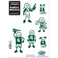 Michigan St. Spartans Family Decal Set Small