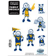 W. Virginia Mountaineers Family Decal Set Small
