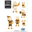 Missouri Tigers Family Decal Set Small