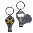 Michigan Wolverines Nail Care/Bottle Opener Key Chain