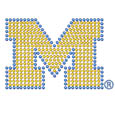 Michigan Wolverines Bling Decal