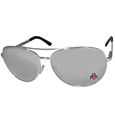 Ohio St. Buckeyes Aviator Sunglasses