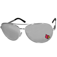 Louisville Cardinals Aviator Sunglasses