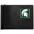 Michigan St. Spartans Leather Bill Clip Wallet