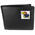Kansas Jayhawks Leather Bi-fold Wallet