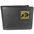 Colorado Buffaloes Leather Bi-fold Wallet