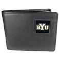BYU Cougars Leather Bi-fold Wallet
