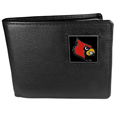 Louisville Cardinals Leather Bi-fold Wallet