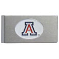 Arizona Wildcats Brushed Metal Money Clip