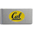 Cal Berkeley Bears Brushed Metal Money Clip