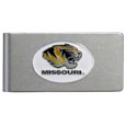 Missouri Tigers Brushed Metal Money Clip