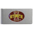 Iowa St. Cyclones Brushed Metal Money Clip