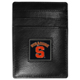 Syracuse Orange Leather Money Clip/Cardholder