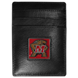 Maryland Terrapins Leather Money Clip/Cardholder