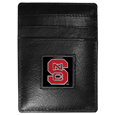N. Carolina St. Wolfpack Leather Money Clip/Cardholder