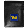 PITT Panthers Leather Money Clip/Cardholder