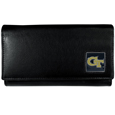Georgia Tech Yellow Jackets Leather Women's Wallet