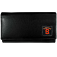 Syracuse Orange Leather Women's Wallet