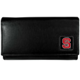 N. Carolina St. Wolfpack Leather Women's Wallet