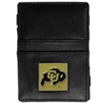 Colorado Buffaloes Leather Jacob's Ladder Wallet
