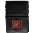 Maryland Terrapins Leather Jacob's Ladder Wallet