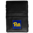 PITT Panthers Leather Jacob's Ladder Wallet