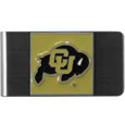 Colorado Buffaloes Steel Money Clip