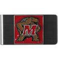 Maryland Terrapins Steel Money Clip