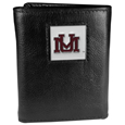 Montana Grizzlies Deluxe Leather Tri-fold Wallet