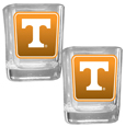 Tennessee Volunteers Square Glass Shot Glass Set