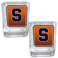 Syracuse Orange Square Glass Shot Glass Set