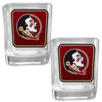Florida St. Seminoles Square Glass Shot Glass Set