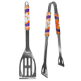 Clemson Tigers 2 pc Steel BBQ Tool Set