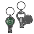 Colorado St. Rams Nail Care/Bottle Opener Key Chain