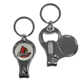 Louisville Cardinals Nail Care/Bottle Opener Key Chain