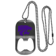 Kansas St. Wildcats Bottle Opener Tag Necklace