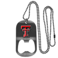 Texas Tech Raiders Bottle Opener Tag Necklace