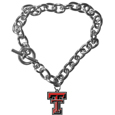 Texas Tech Raiders Charm Chain Bracelet