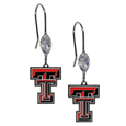 Texas Tech Raiders Crystal Dangle Earrings
