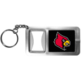 Louisville Cardinals Flashlight Key Chain with Bottle Opener