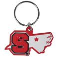 N. Carolina St. Wolfpack Home State Flexi Key Chain