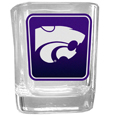 Kansas St. Wildcats Square Glass Shot Glass