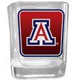 Arizona Wildcats Square Glass Shot Glass