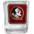 Florida St. Seminoles Square Glass Shot Glass