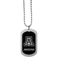 Arizona Wildcats Chrome Tag Necklace