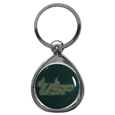 S. Florida Bulls Chrome Key Chain
