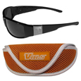 Tennessee Volunteers Chrome Wrap Sunglasses and Sports Case