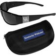 Kentucky Wildcats Chrome Wrap Sunglasses and Zippered Carrying Case