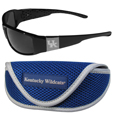 Kentucky Wildcats Chrome Wrap Sunglasses and Sports Case